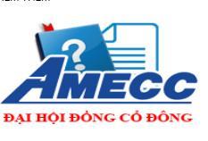 Biên bản họp ĐHĐCĐ thường niên 2018 Công ty CP Cơ khí xây dựng AMECC
