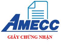 AMECC - Giấy Đăng Ký Kinh Doanh Công ty CP CKXD AMECC thay đổi lần thứ 14