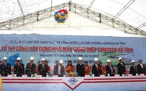 Lisemco 2 ký kết hợp đồng và triển khai gia công dự án formosa Hà Tĩnh