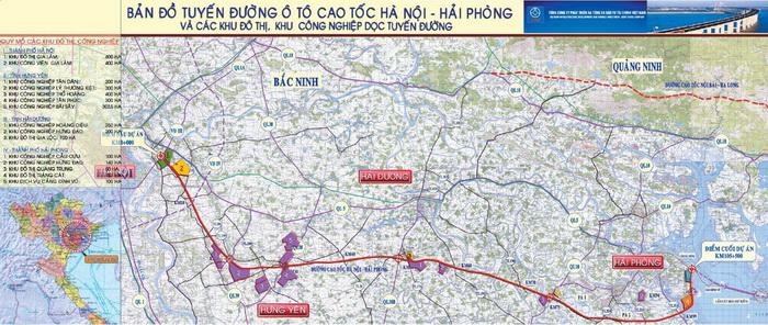 Sẽ nhượng cao tốc Hà Nội - Hải Phòng cho đối tác ngoại