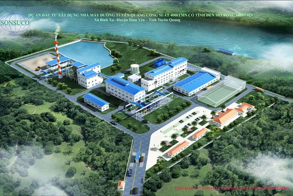 Lisemco 2 lắp đặt thiết bị nhà máy đường Tuyên Quang