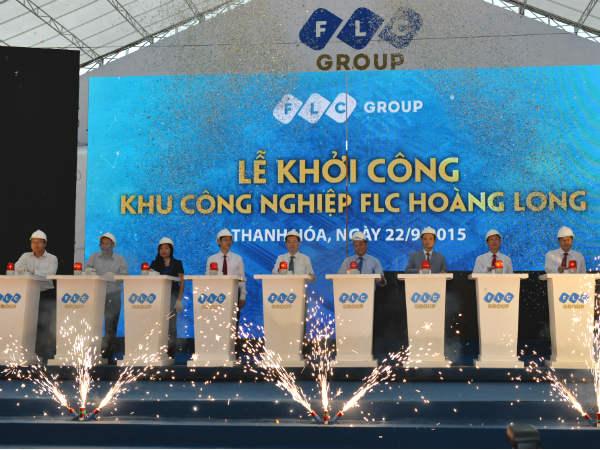 FLCkhởi công khu công nghiệp FLC Hoàng Long tại Thanh Hóa