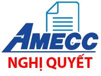 Nghị quyết của HĐQT Công ty CP cơ khí xây dựng AMECC vv Hạn chế chuyển nhượng cổ phiếu phát hành riêng lẻ