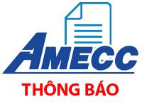 AMECC - Thông báo về ngày đăng ký cuối cùng thực hiện quyền lấy ý kiến cổ đông bằng văn bản