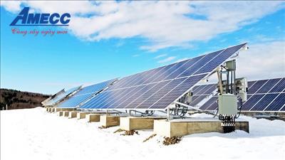AMECC - phát động thi đua hoàn thành nhiệm vụ tại Dự án Xây dựng Nhà máy điện mặt trời - Phước Thái 1, tỉnh Ninh Thuận.