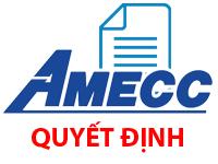 AMECC - Quyết định thay đổi người đứng đầu chi nhánh Công ty - Chi nhánh Quảng Ninh
