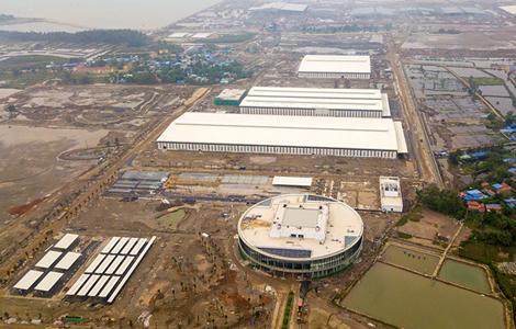 AMECC đẩy nhanh tiến độ dự án Tổ hợp sản xuất ô tô Vinfast