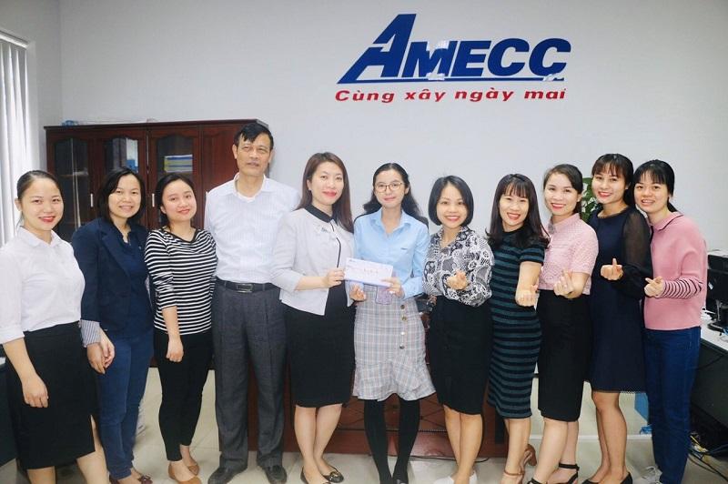 AMECC - CHÚC MỪNG NGÀY TẾT CỔ TRUYỀN MYANMAR- 2020 VÀ TẶNG QUÀ CHO CÁN BỘ CÔNG NHÂN VIÊN.