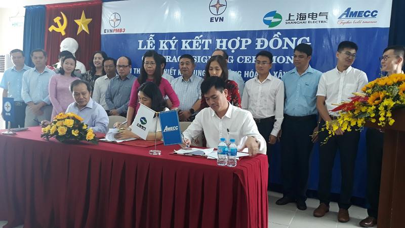 AMECC ký hợp đồng EPC Dự án Nhà máy điện mặt trời Phước Thái 1