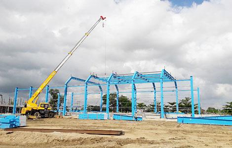 AMECC được lựa chọn là nhà thầu thiết kế; thi công; lắp đặt và chuyển giao công nghệ cho Nhà máy Mạ kẽm nhúng nóng KMN Myanmar