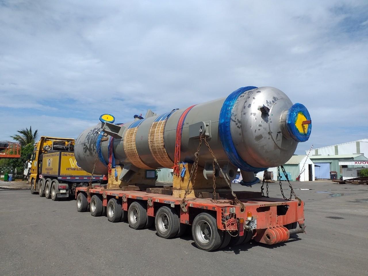 AMECC Nhận bàn giao thiết bị tách dầu khí từ nhà thầu SamSung - Dự án Long Sơn Petrochemicals – LSP B/C.